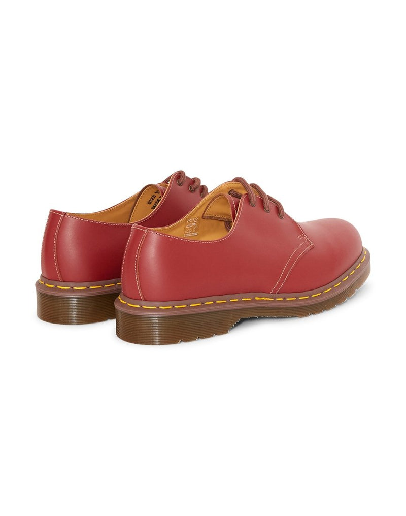 Dr Martens - Made In England Vintage 1461 Shoe Burgundy