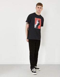 Swallows & Daggers - Idle Hands T-Shirt Black