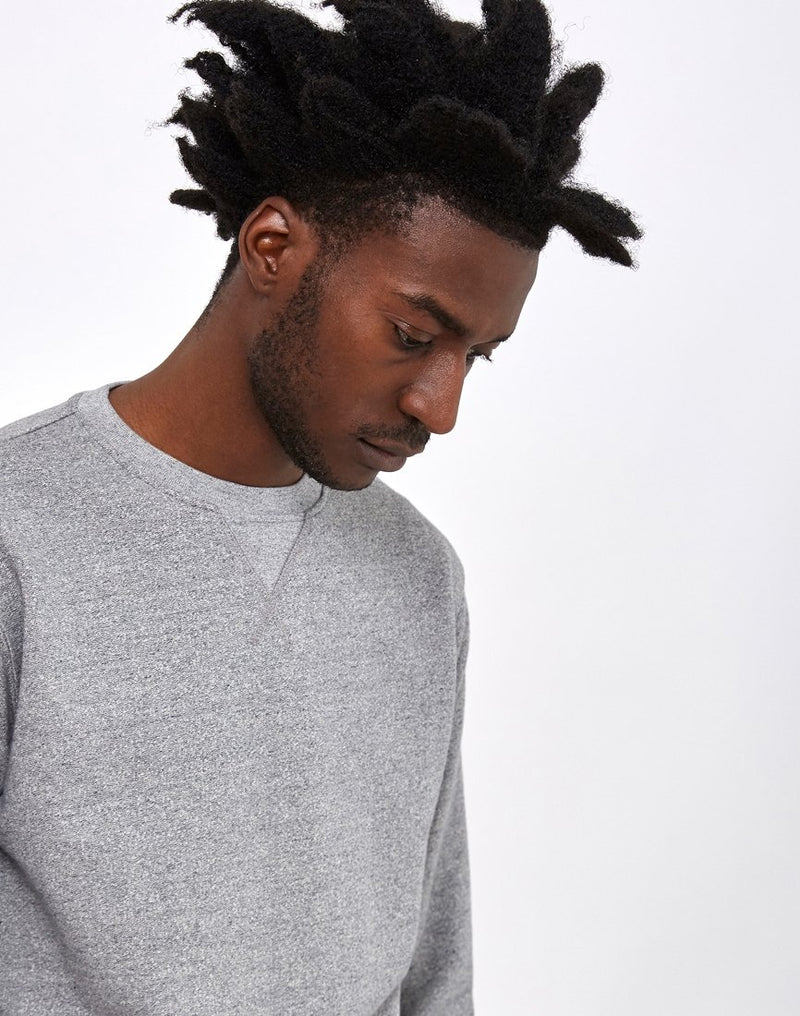 Edwin - Classic Crew Sweat Mouline Grey