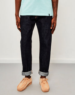 Edwin - Classic Regular Tapered Made in Japan Rainbow Selvedge Jeans Unwashed
