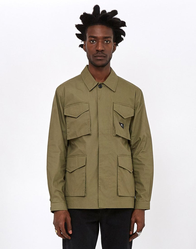 Edwin - Corporal Poly Cotton Coated Jacket Green