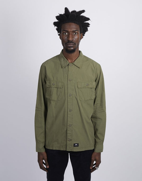 Edwin Corporal Shirt Military Green