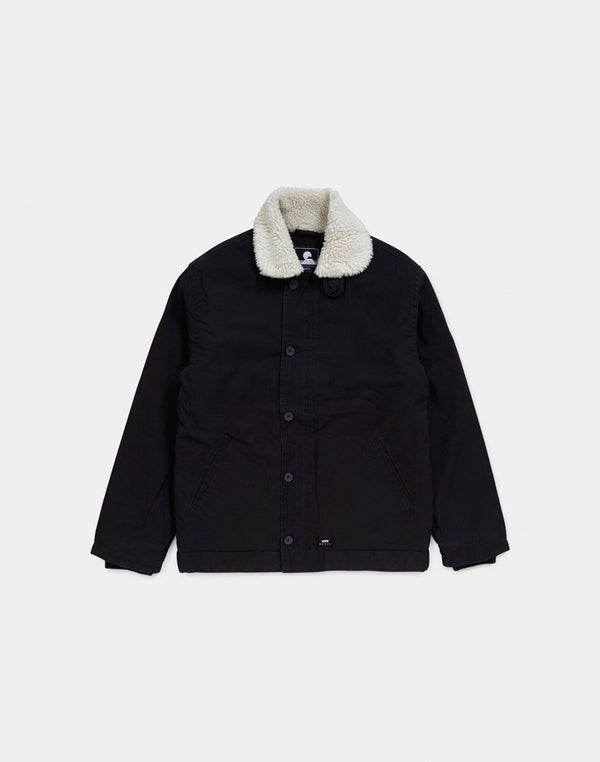 Edwin - Deck Jacket Black