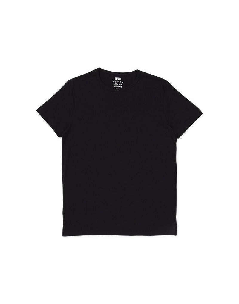 Edwin - Double Pack Short Sleeve T-Shirt Black