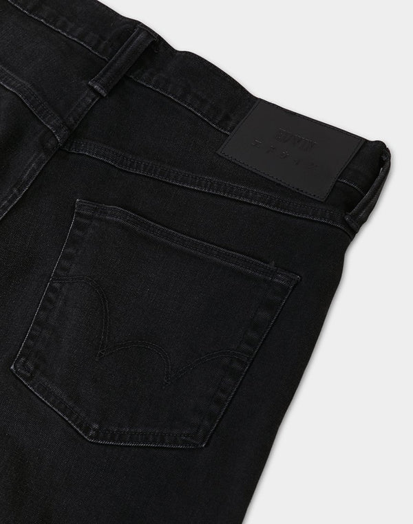 Edwin ED-55 Regular Tapered Jeans, CS Powder Black Denim