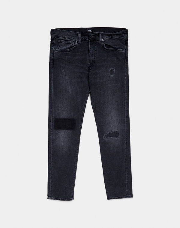 Edwin ED-80 Slim Tapered Jeans, CS Power Black Denim