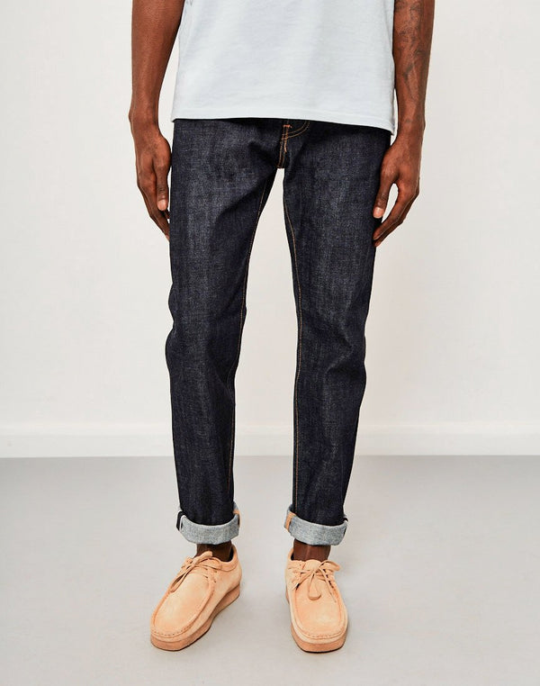 Edwin - ED-80 Slim Tapered Red Listed Selvedge Jeans Unwashed