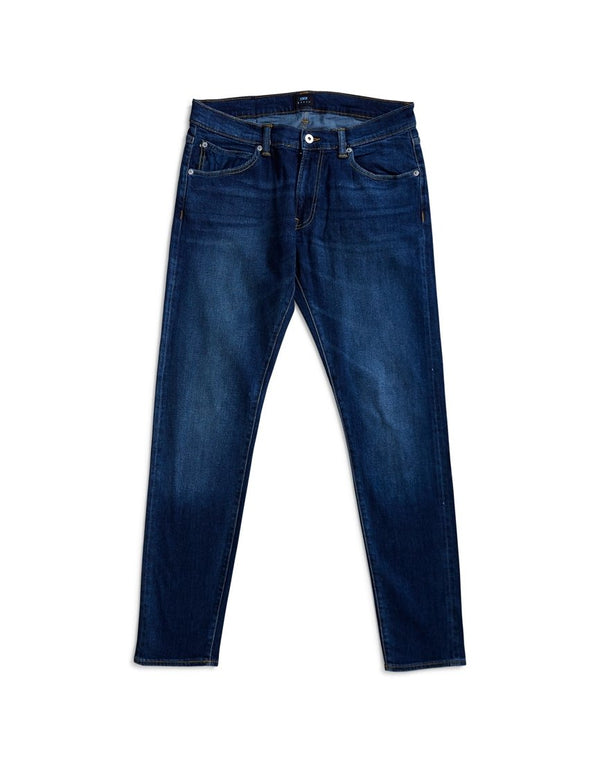 Edwin - ED-85 Slim Tapered Drop Crotch CS Red Listed Selvage Denim 10.5oz Jean Blast Wash