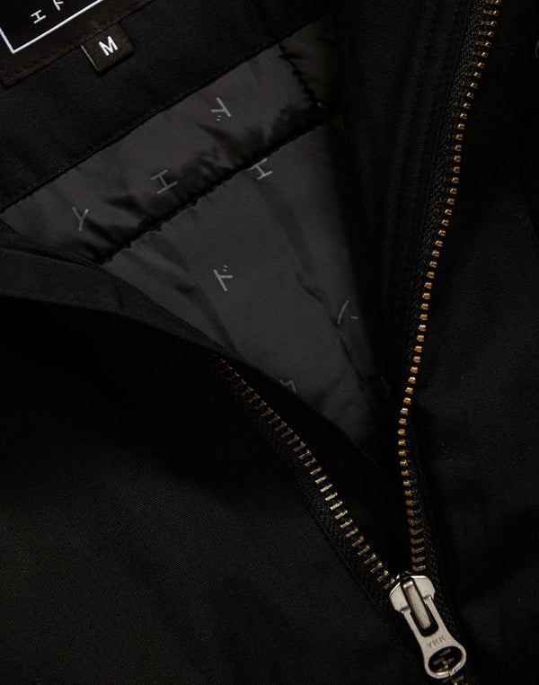 Edwin - Fishtail Parka 2  Black