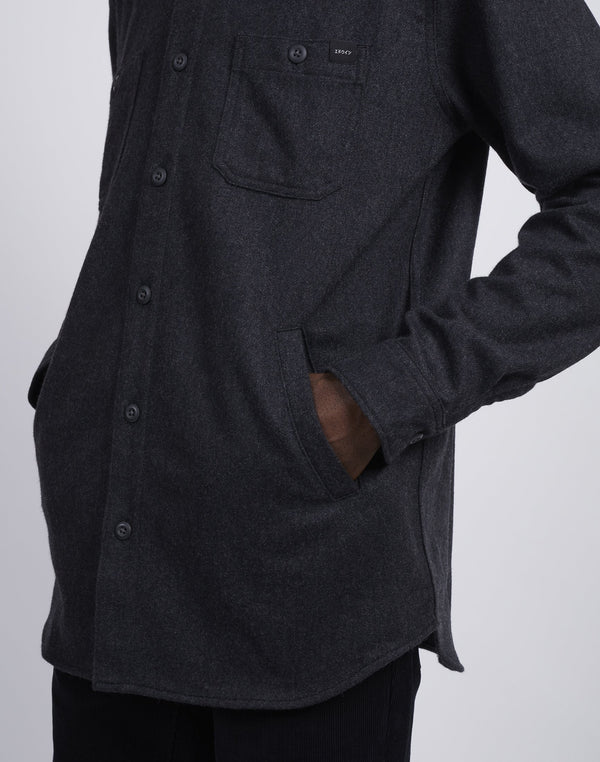 Edwin Labour 4 Pockets Shirt Black