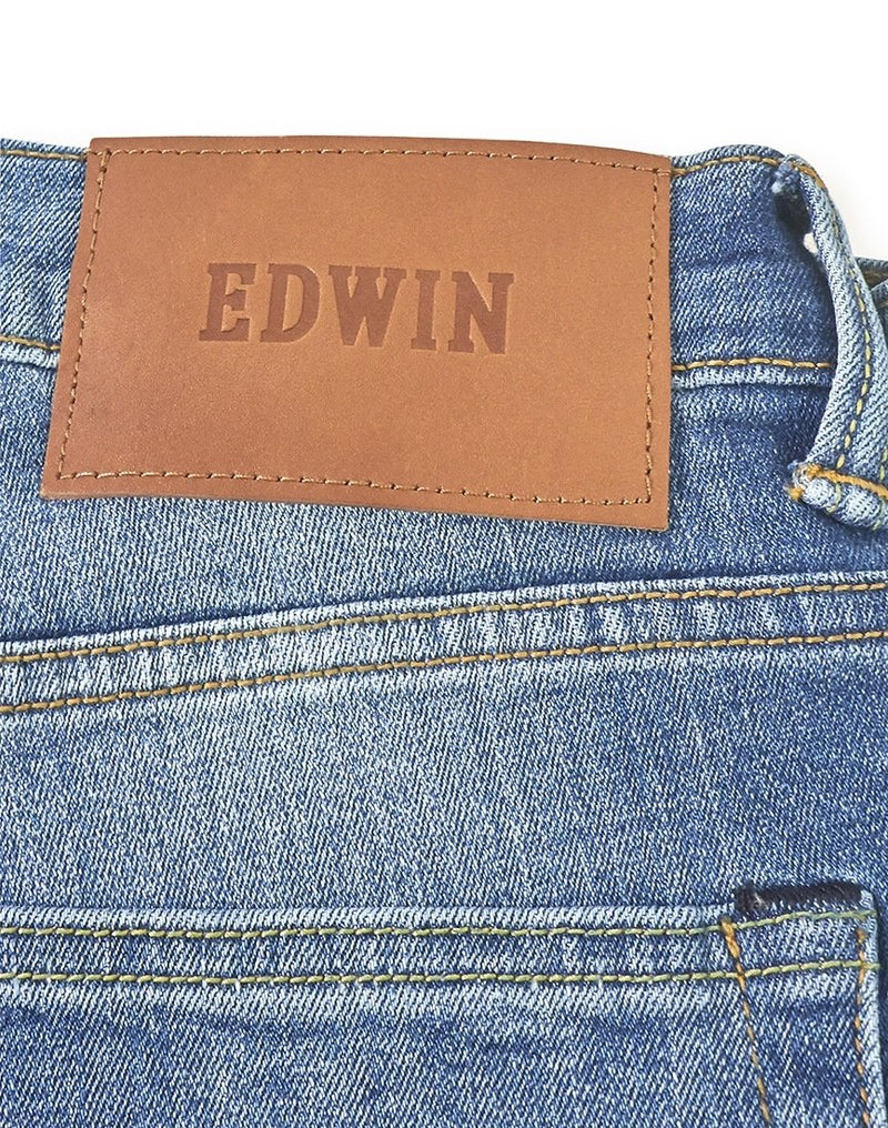 Edwin - ED-80 Slim Tapered CS Red Listed Selvage Denim 10.5oz Jean Sky Wash