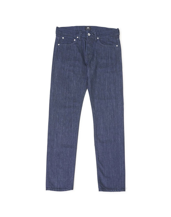 Edwin - ED-80 Slim Tapered Kingston Blue Denim Cotton 12oz Jean Rinsed