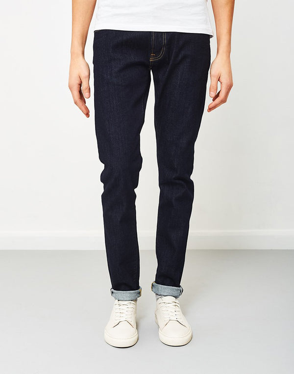 Edwin - ED-85 Slim Tapered Drop Crotch Red Listed Selvage Denim Rinsed