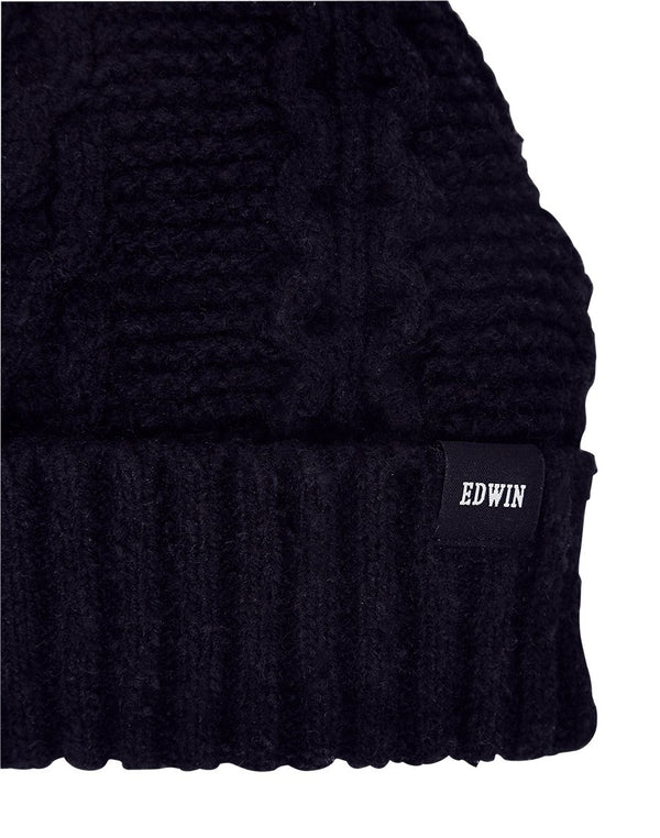 Edwin - United Beanie Black