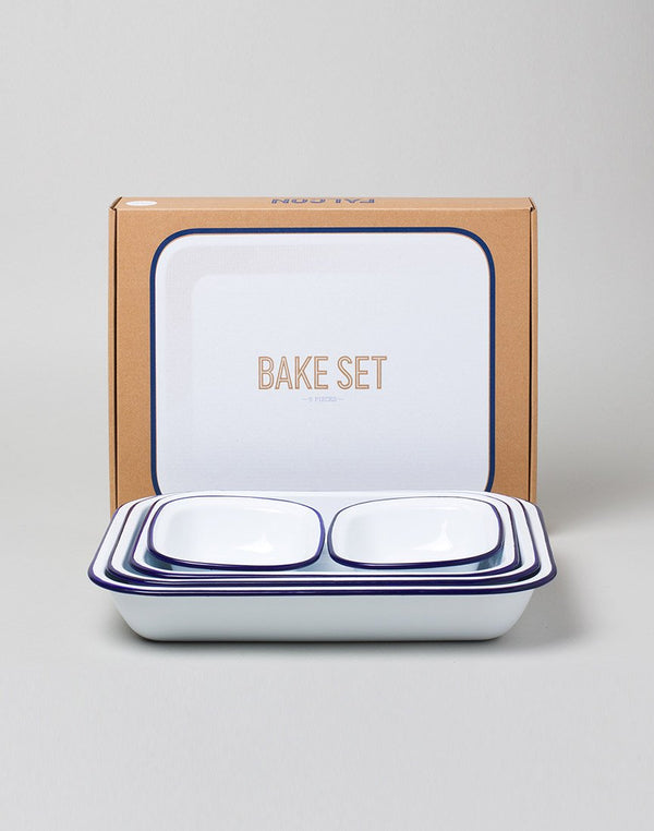 Falcon Enamelware - Pie Set (5 Items) White