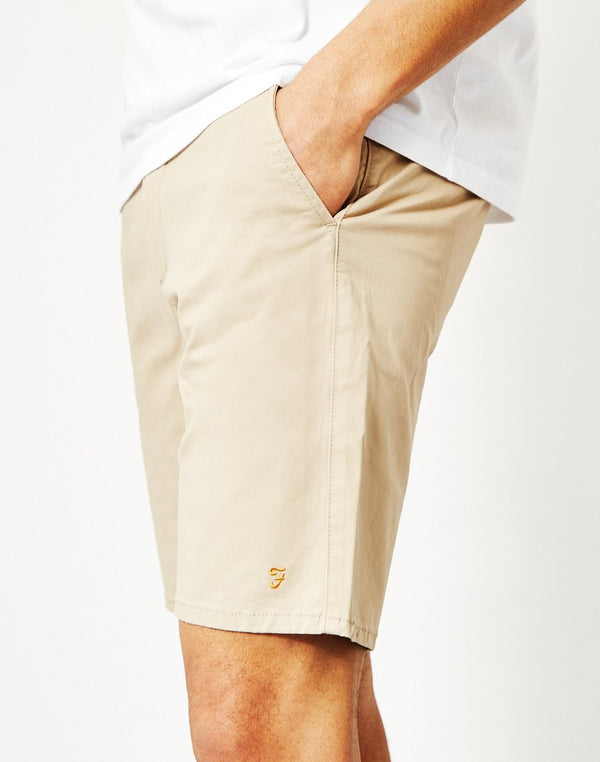 Farah - Hawk Chino Shorts Tan