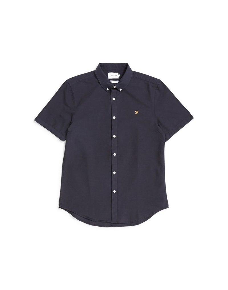 Farah - Brewer Short Sleeve Shirt Navy