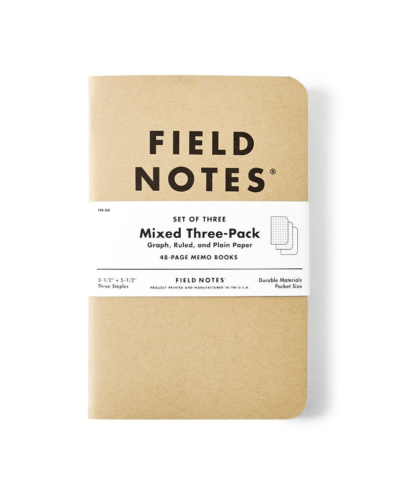 Field Notes - Original Mixed 3-Pack