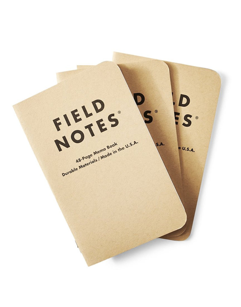 Field Notes - Original Plain 3-Pack
