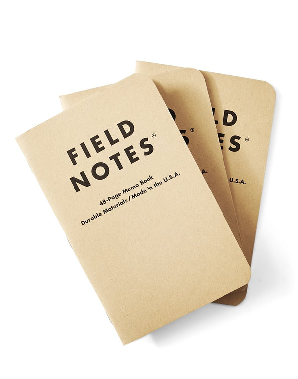 Field Notes - Original Ruled 3-Pack