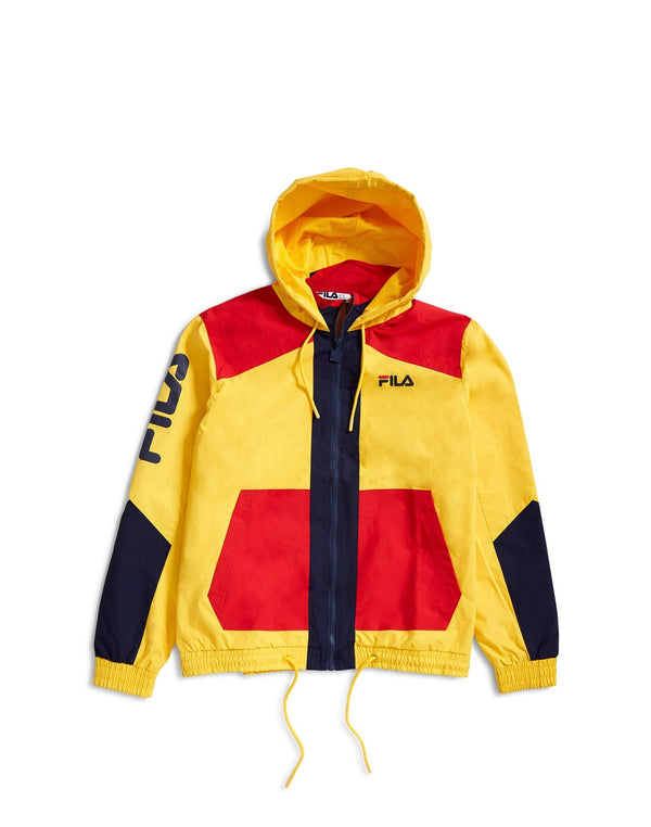 Fila - Black Line Earl Colour Block Jacket Yellow