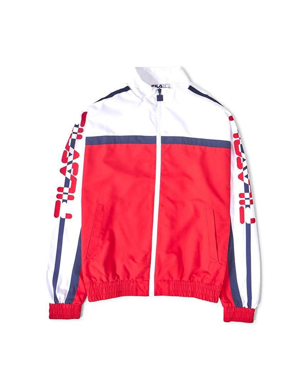 Fila - Black Line Ezra Archive Track Jacket Red