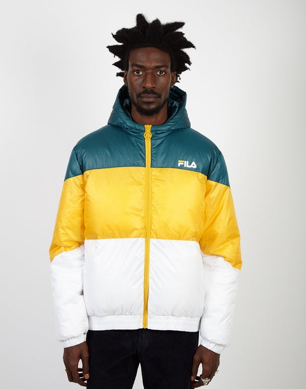 Fila - Tatum Hooded Windjacket Teal
