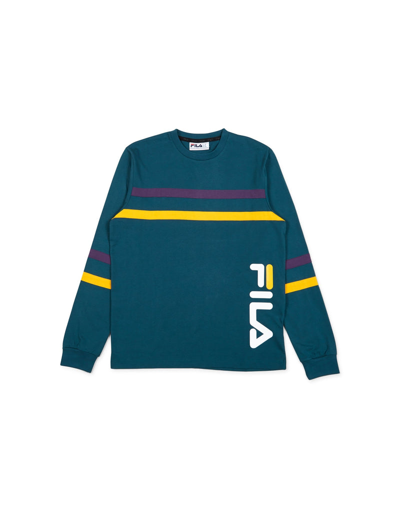 Fila - Daniel Long Sleeve Tee Teal