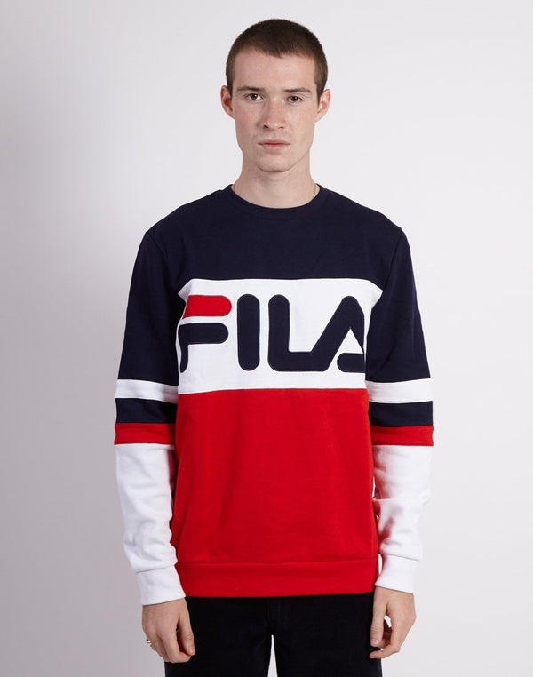 Fila - Freddie Oversized Sweatshirt Red