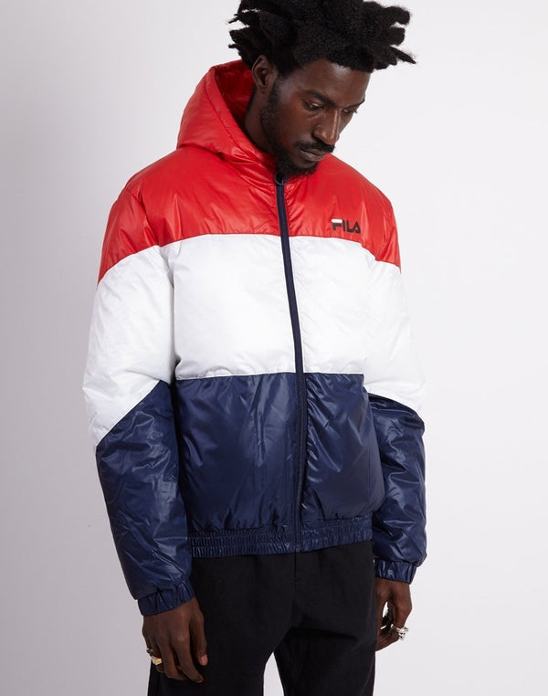 Fila - Tatum Hooded Windjacket Red