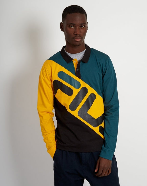 Fila - Taygen Rugby Shirt Teal