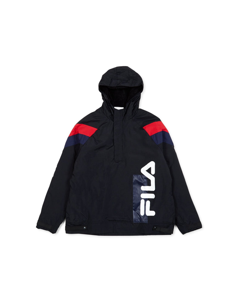 Fila - Tru Faux Lambswool Lined Jacket Black