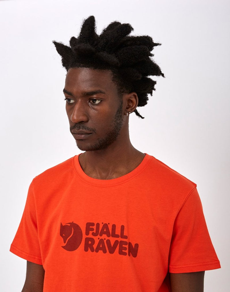 Fjallraven - Logo T-Shirt Orange
