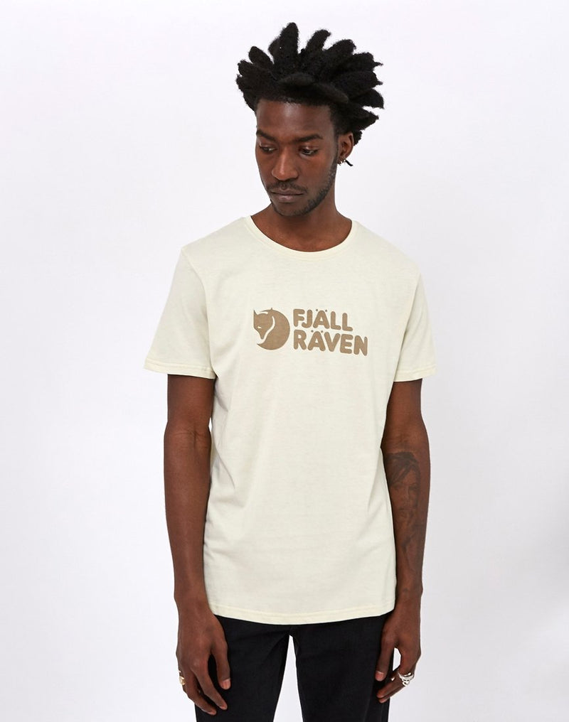 Fjallraven - Logo T-Shirt Chalk White