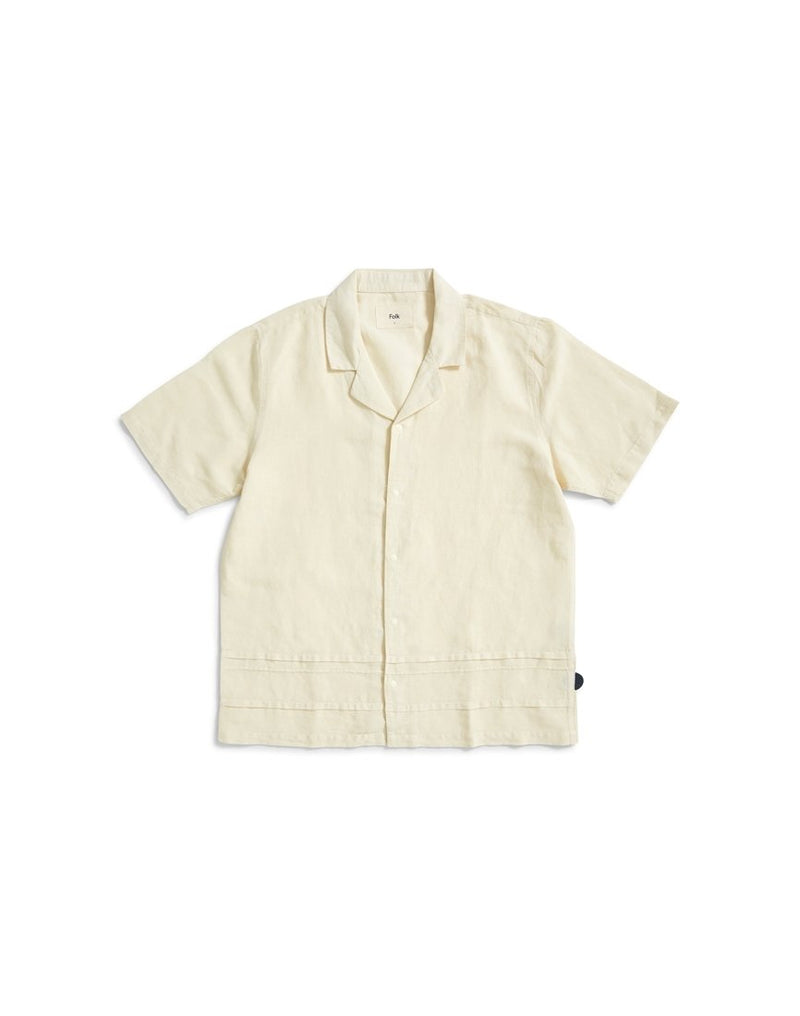 Folk - Horizon Short Sleeve Shirt Yellow