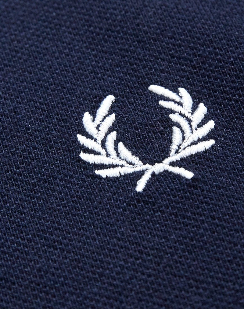 Fred Perry - Crew Neck Pique T-Shirt Navy