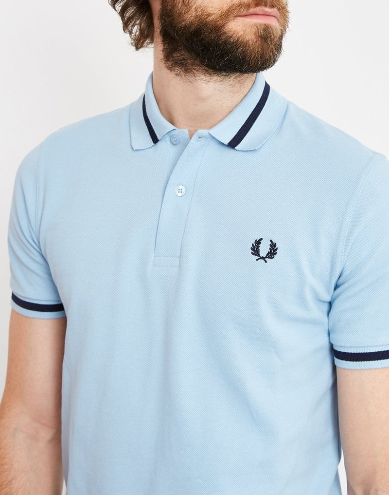 Fred Perry - M2 Single Tipped Polo Shirt Blue