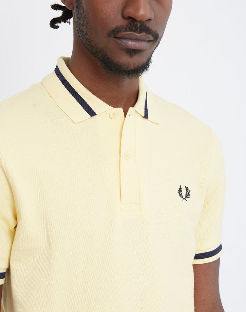Fred Perry - M2 Single Tipped Polo Shirt Yellow