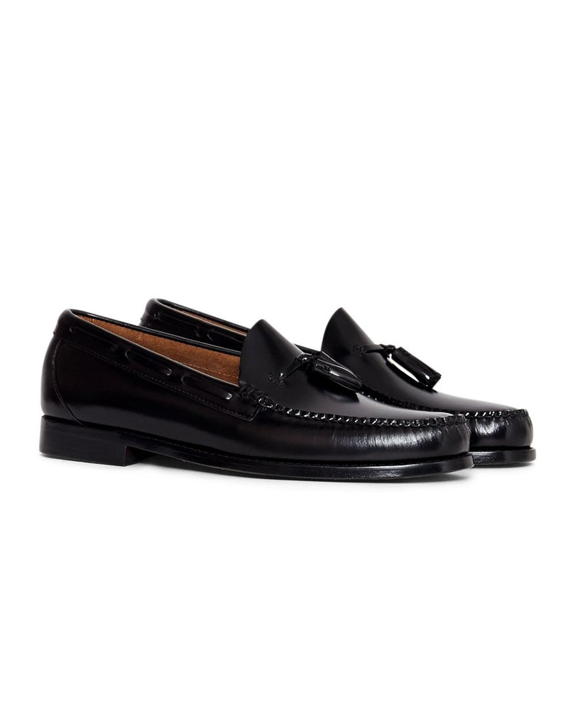 G.H Bass & Co. - Weejuns Larkin Tassle Loafers Black
