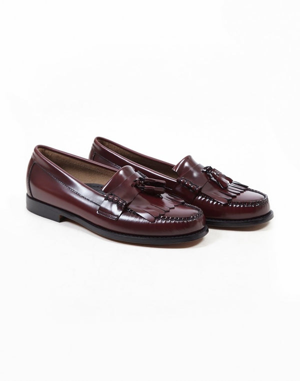 G.H Bass & Co - Weejun Layton II Moc Kiltie Loafer Burgundy