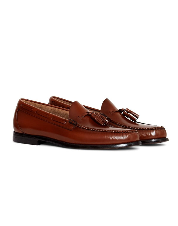 G.H. Bass & Co. - Weejuns Larkin Tassle Loafers Tan