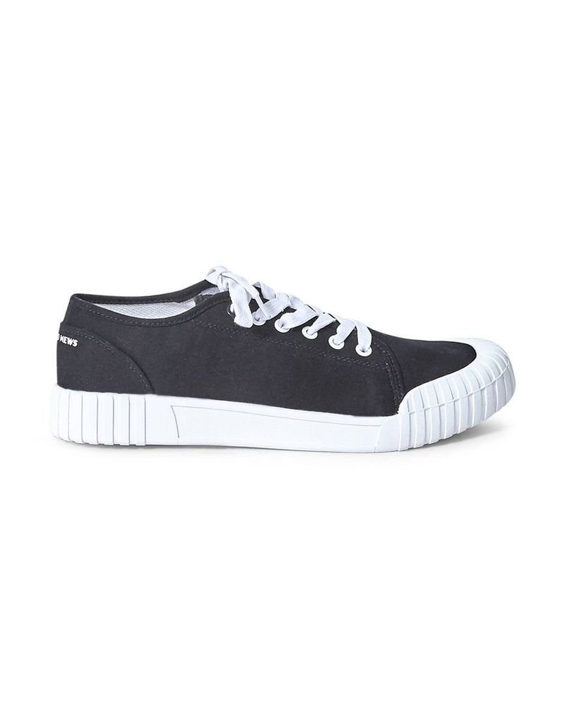 Good News - Bagger Low Plimsolls Black