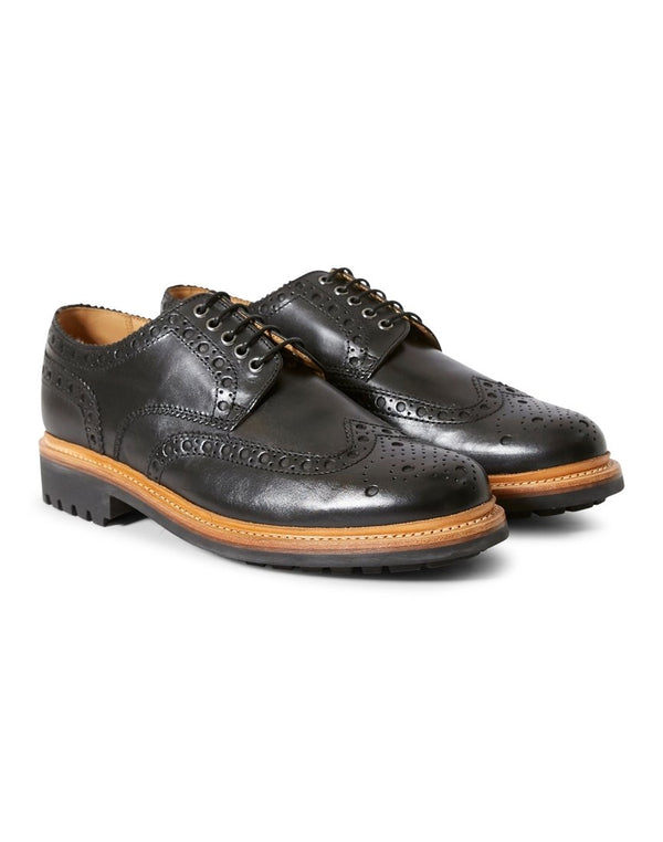 Grenson - Archie Brogue Black