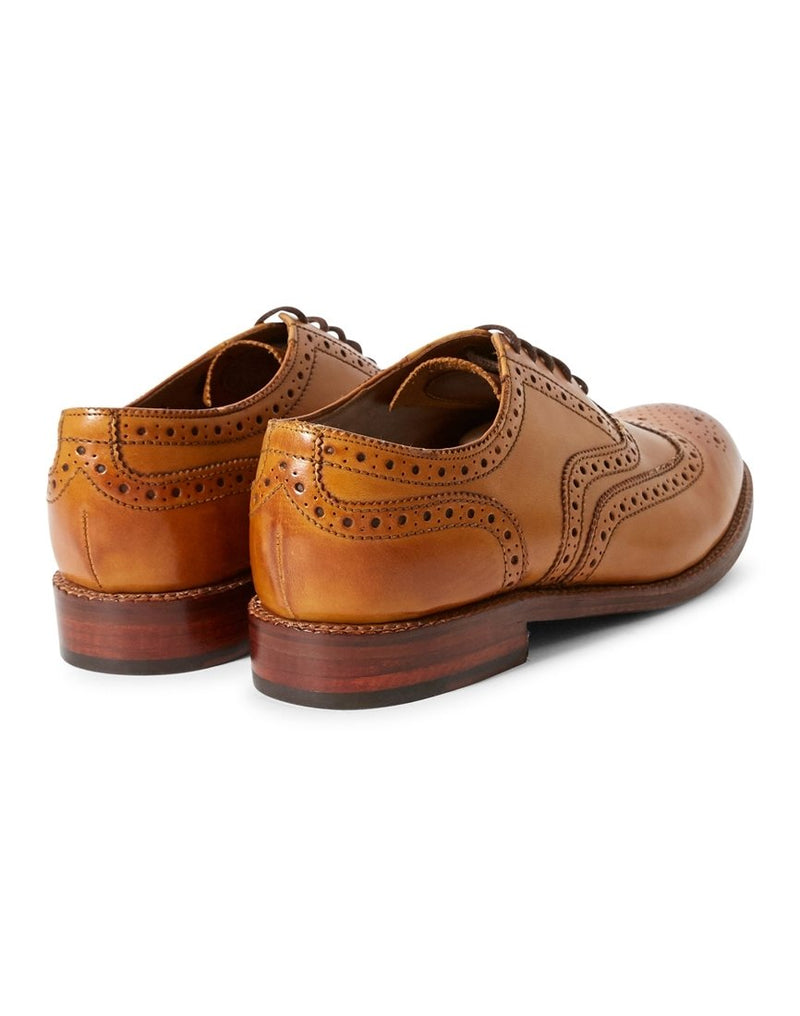 Grenson - Stanley Brogue Tan