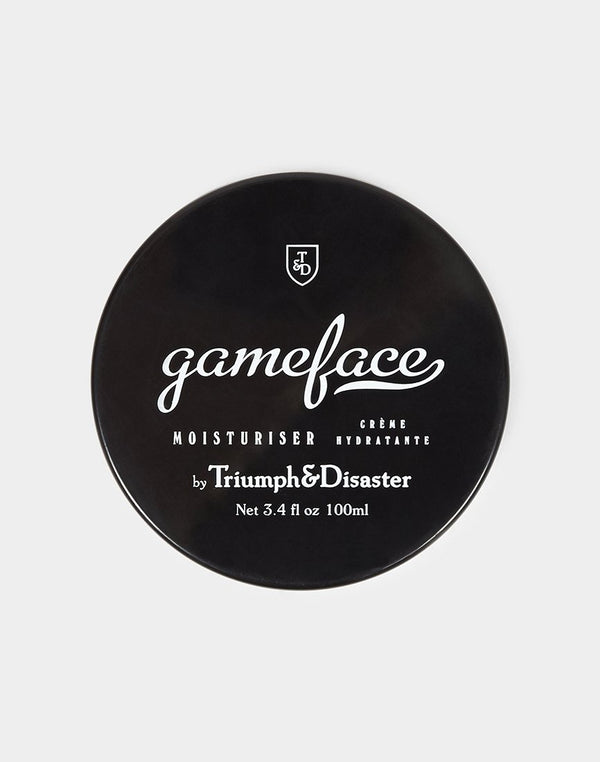 Triumph & Disaster - Gameface moisturiser Jar 100ml