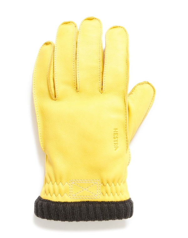 Hestra - Deerskin Primaloft Gloves Yellow