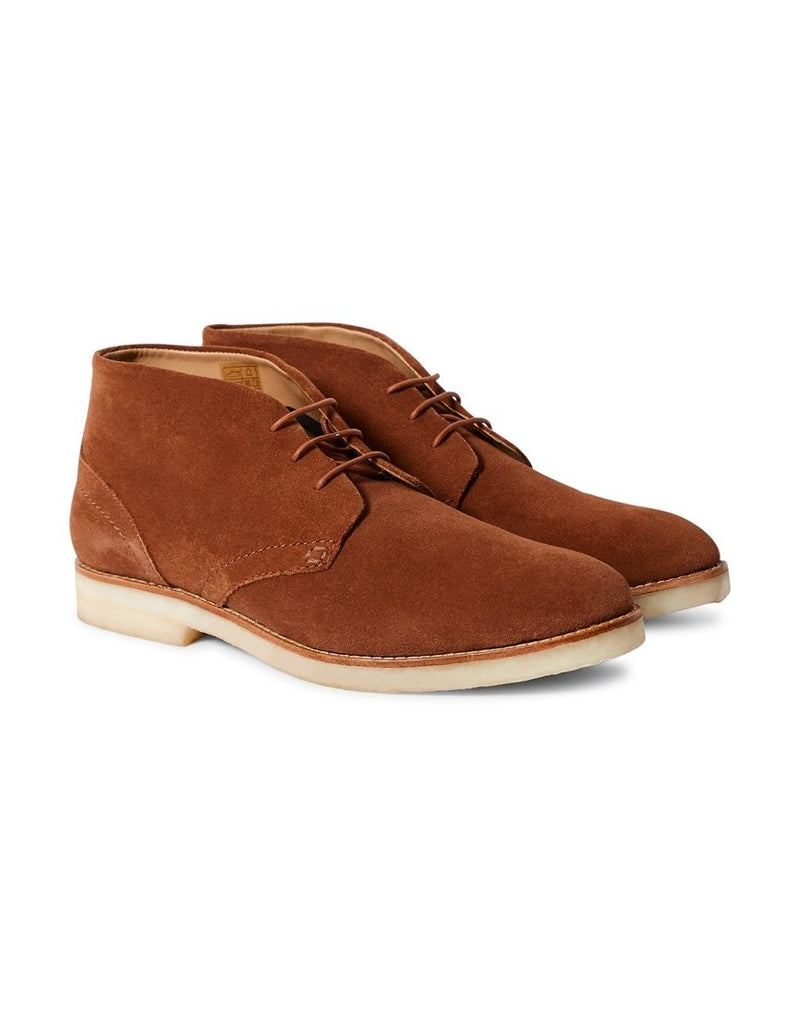 Hudson - Hatchard Suede Lace Up Shoes Tan