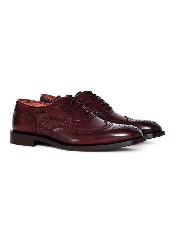 Hudson - Heyford Calf Brogue Brown
