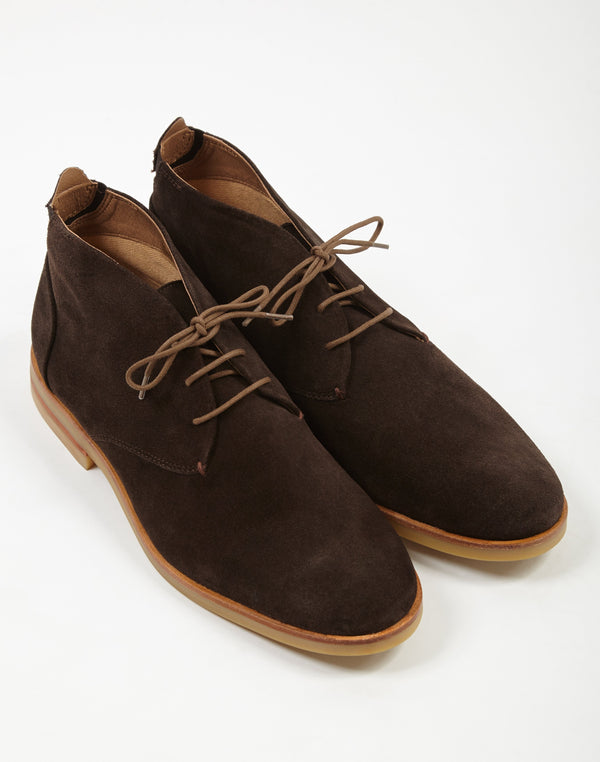 Hudson - Bedlington Suede Chukka Boot Brown
