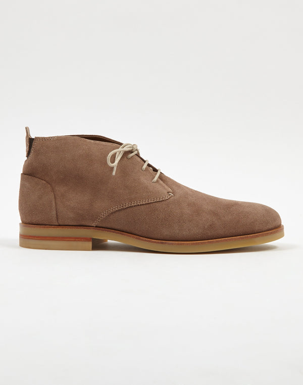 Hudson - Bedlington Suede Chukka Boot Taupe